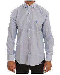Roberto Cavalli Shirt - Blauw