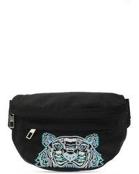 KENZO Belt Bag With Logo - Zwart