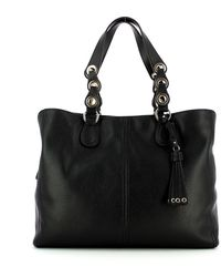 Liu Jo Shoulder Bag With Tassel - Zwart