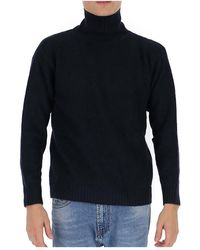 Laneus - Rollneck knit sweater - Lyst