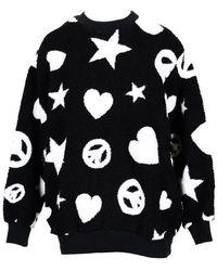 Love Moschino Jumper - Zwart