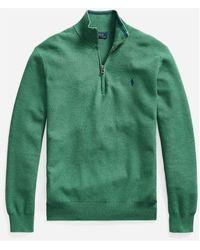 Polo Ralph Lauren Ls Hz Sweater - Groen