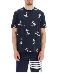 Thom Browne T-shirt - Zwart