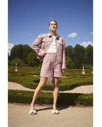 Custommade• Pantalones cortos chinos Rosa