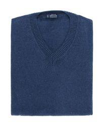Breuer Jersey cuello pico - Blu