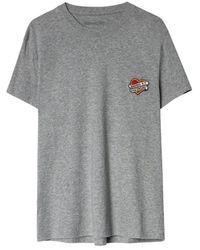 Zadig & Voltaire Small Hearts Tshirt T-shirt - Grijs