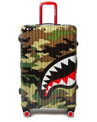 Sprayground Sharknautics Big Luggage bag - Marron