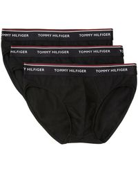 Tommy Hilfiger 1u87903766 Briefs 3 Pack - Zwart