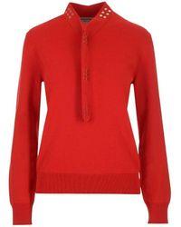 Bottega Veneta 631287vkvy06144 Sweater - Rood