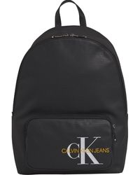 Calvin Klein K50k505235 Gejase Katoen Campus Backpack - Zwart