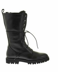 Fabiana Filippi Leather Boot - Zwart