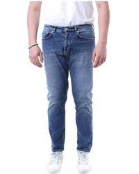 Mauro Grifoni Gh 14200388 slim jeans - Azul