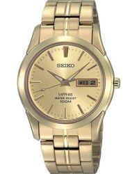 Seiko Watch Ur - Sgga62P1 - Geel