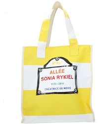 Sonia Rykiel Borse A Spalla Tessuto - Geel