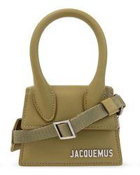 Jacquemus 'le Chiquito Homme Shoulder Bag - Groen