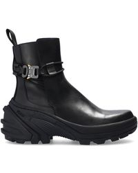 1017 ALYX 9SM Chelsea boots with chunky sole - Noir