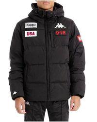 Kappa 304nqg 0 autentic la baital down jacket - Negro