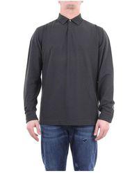 Zanone 811819z0380 Long Sleeves Men Shirt - Groen