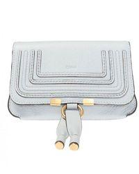 Chloé 'marcie' Stitched Belt Bag - Blauw