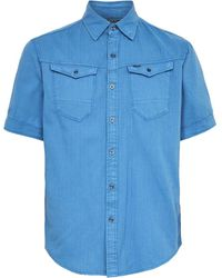 G-Star RAW Arc 3d Slim Shirt - Blauw