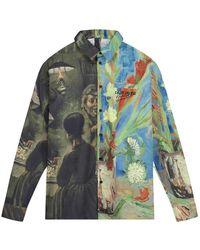 Daily Paper Van Gogh Museum Easters Jisi Shirt - Grigio