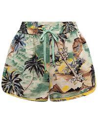 Zimmermann Shorts - Groen