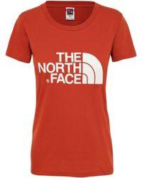 The North Face Camiseta Easy - Orange