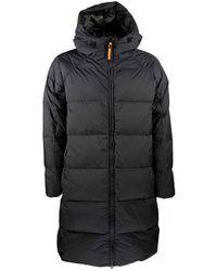 Horspist Long down jacket Foam - Schwarz