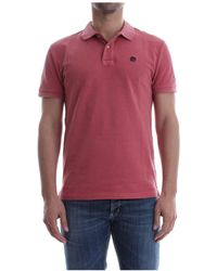 AT.P.CO A165p19 A0667 Polo Men Red - Rood