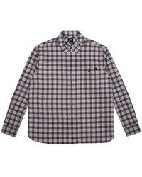 Edwin Wilson Zip Through Shirt Ls - Zwart