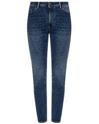 Acne Studios Peg Jeans - Blauw
