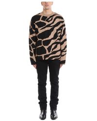 Roberto Cavalli Oversize Sweater - Marrone