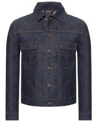 A.P.C. Denim Jacket - Blauw