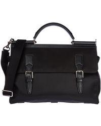 Dolce & Gabbana Travel Duffle Weekend Shoulder Bag - Zwart