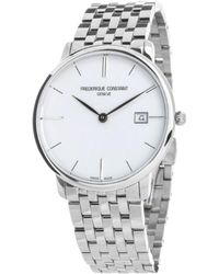 Frederique Constant Slimline Watch - Gris