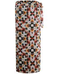 Poools Skirt Long - Rood