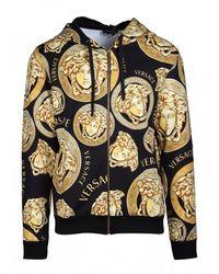 Versace Medusa Zip Sweatshirt - Geel