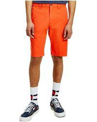 Tommy Hilfiger Bermuda - Oranje