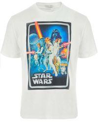Etro T-shirt Star Wars - Wit