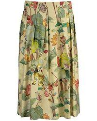 Etro Midi Skirt - Geel