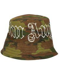 Palm Angels Bucket Hat - Groen