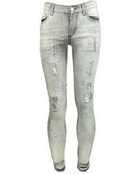 Alexandro Fratelli Slim Fit Jeans - Grijs
