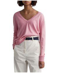 GANT Sweater - Roze