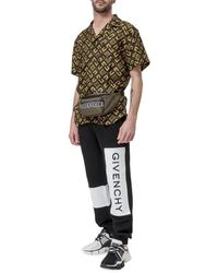 Givenchy - Joggers with Logo Embroidery Negro - Lyst