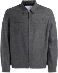 KENZO Shirt collar jacket Gris