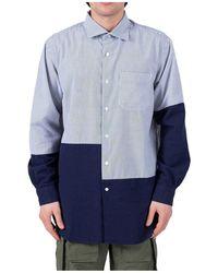 Engineered Garments Shirt - Blauw