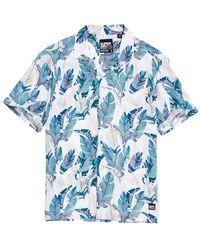 Superdry Hawaiian Box Shirt - Blauw