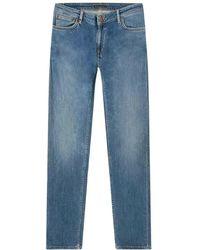 Nudie Jeans Jeans Skinny - Blauw