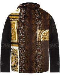 Versace Printed Jacket - Zwart