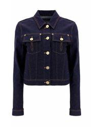 Versace 10009921a006861d100 Jacket - Blauw